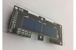 "Dual 0.96"" OLED display board"