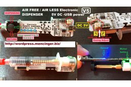 Solder Paste Dispenser V5 Air Free paste extruder