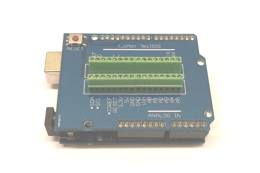 Mini Screw Terminal Shield for Arduino