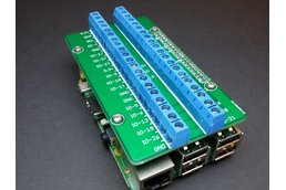 Screw Terminal Shield for Raspberry Pi (2B, 3B)