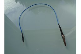 Alligator clip cable for breadboard