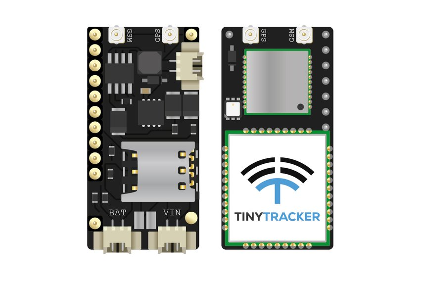 TinyTracker GPS/GSM/CAN for Teensy 3.1/3.2