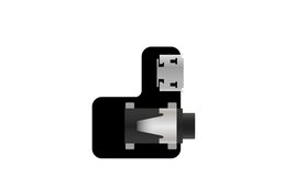 GoPro Audio Jack adapter with power input