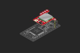 TinyGPS backpack for Teensy 3.0-3.6 and LC