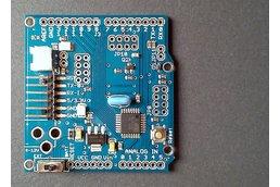 ATMega328p board w/ NRF24l01+  Arduino PRO format