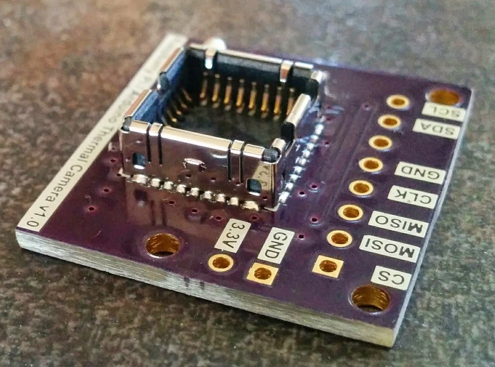 Shuttered Flir Lepton Thermal Camera and Breakout from ...