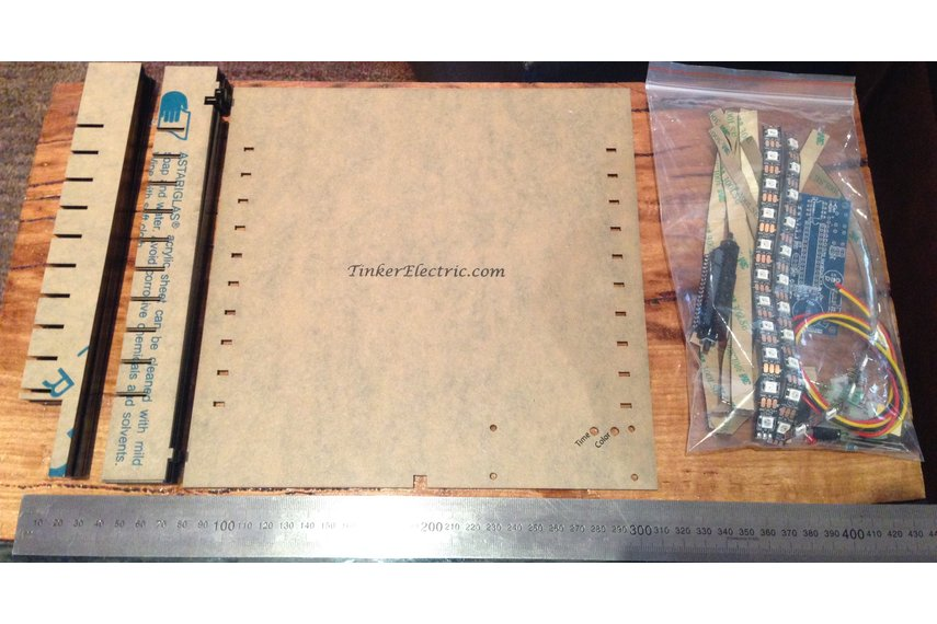 Tinker's Word Clock - Kit or Assembled (v4)