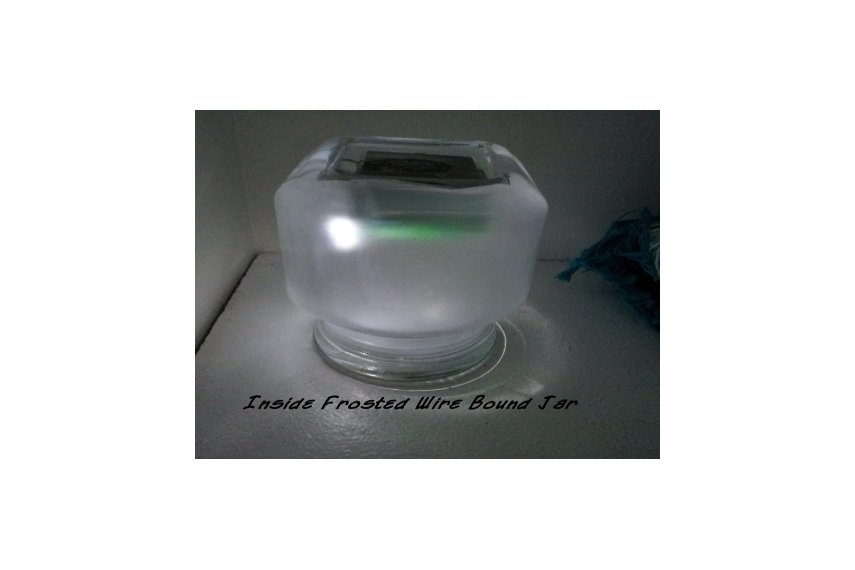 Infinity Supercapacitor Solar Sun Jar Unit
