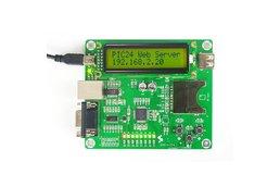 Ethernet Development Board Web Server Demo- PIC24FJ256GB106