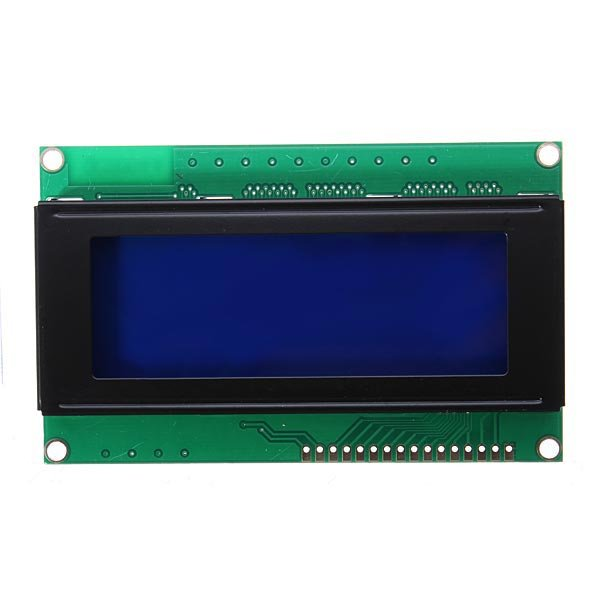 V  a lcd display module blue screen for