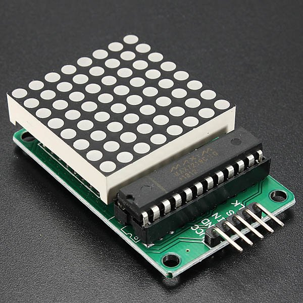 Dot matrix led display kit for arduino from mmm on tindie
