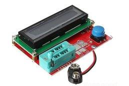 SMD/DIP Transistor Tester Diode Triode Capacitance ESR Meter MOS PNP NPN