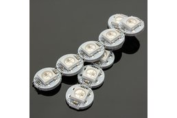 50Pcs DC 5V 3MM x 10MM WS2812B SMD LED Board Built