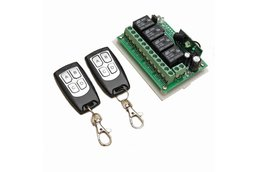 12V 4CH Channel 315Mhz Wireless Remote Control
