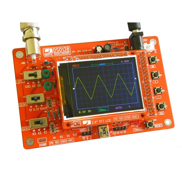 Diy digital oscilloscope kit from mmm999 on tindie for Diy electronic gadgets