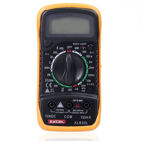 Intelligent Digital Ammeter Voltmeter : Lcd digital voltmeter ohmmeter ammeter tester from mmm