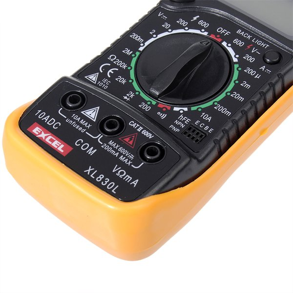 how to use an ohmmeter
