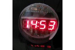 DIY Lampshade Remote Clock Electronic Clock Kit