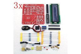 3 pc DIY Multi-function Transistor Tester Kit