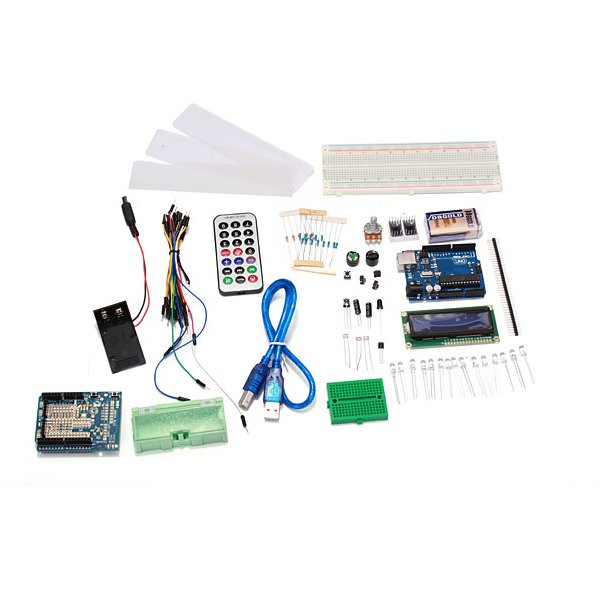 Arduino uno r compatible starter kit from mmm on tindie