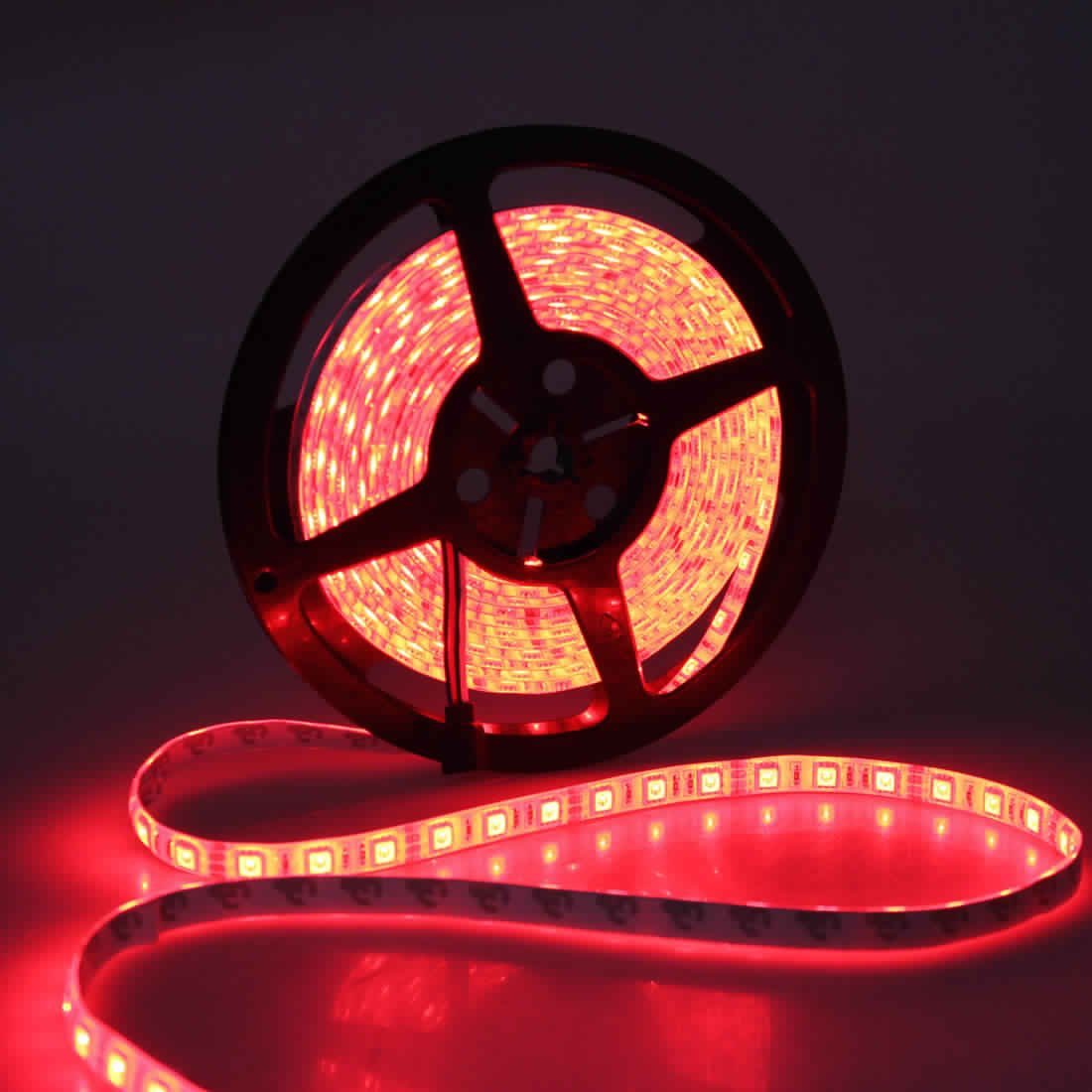 5m 5050 rgb waterproof 300 led strip light 12v dc from. Black Bedroom Furniture Sets. Home Design Ideas