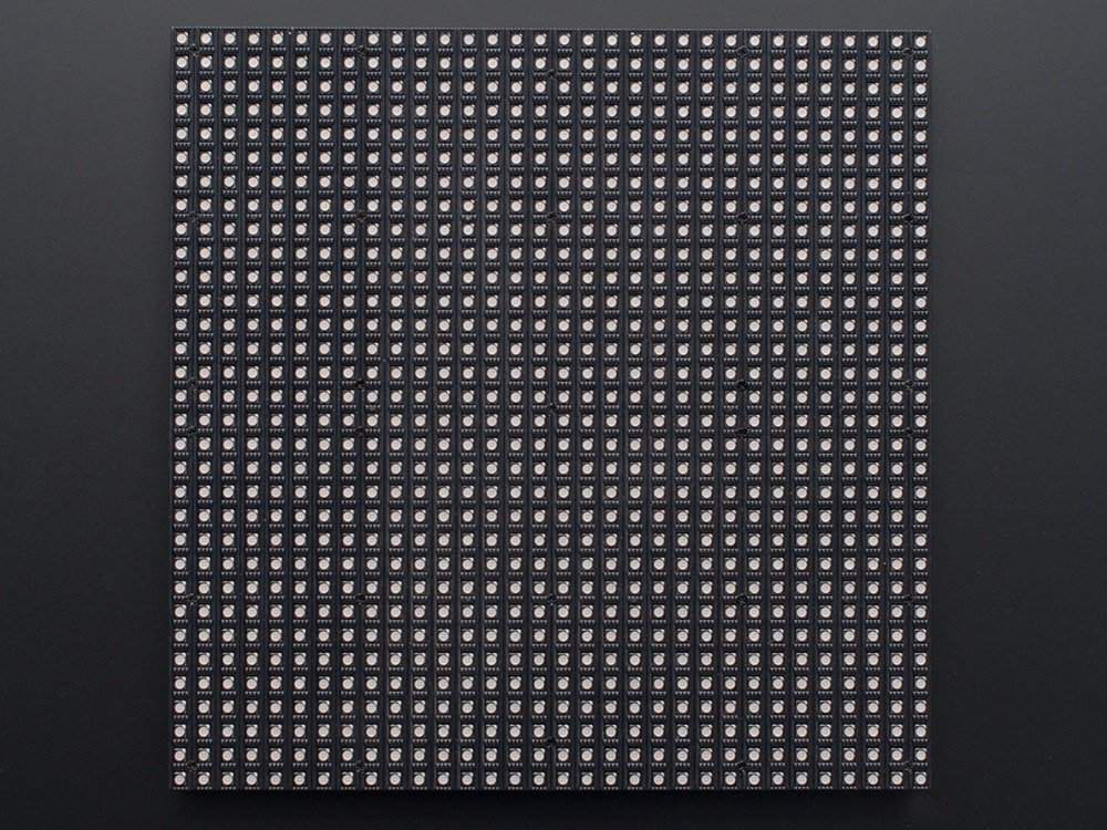 32x32 rgb led panel from hanscorp2014 on tindie. Black Bedroom Furniture Sets. Home Design Ideas