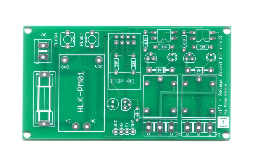 WiFi +  Relays Board Kit