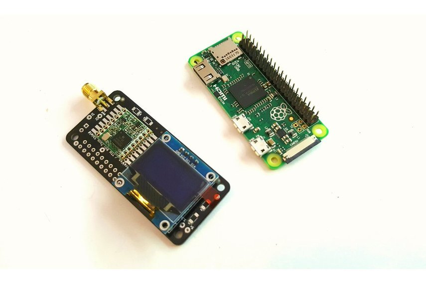 Raspberry PI2-3-Zero Lorawan/TTN Kit