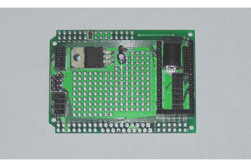 Teensy 3/LC Proto board, Arduino Shield, nRF24L01+