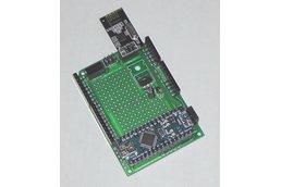 Nano 3 board w/ shield breakout, proto, nRF24L01+
