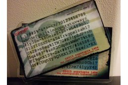 c@rd™ Password Generator/Recall Card