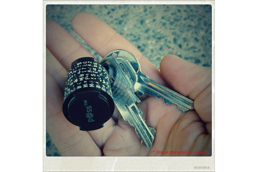 p@ss™ Mark II Password Generator/Recall Key Fob