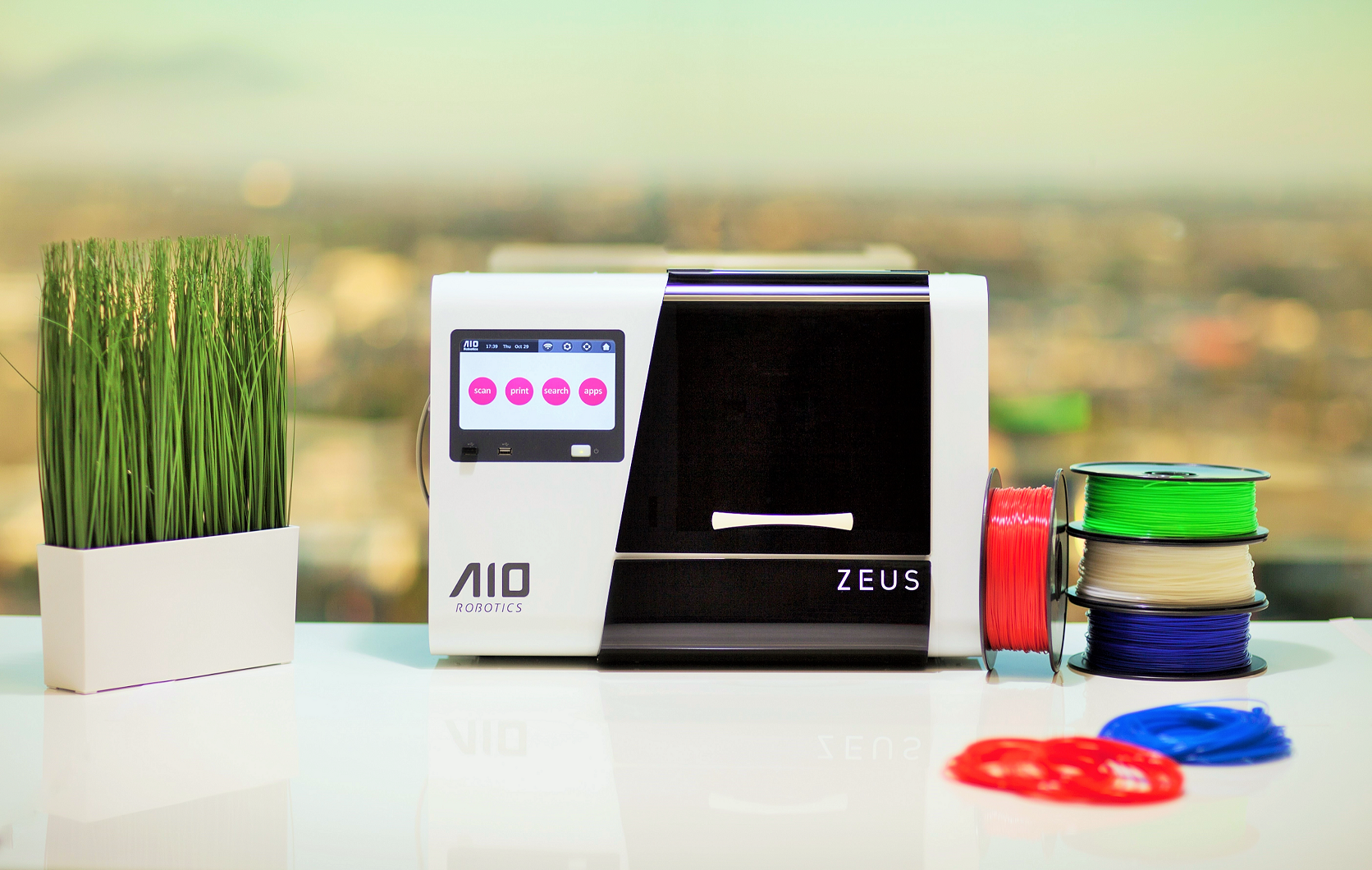 Zeus 3d Printer Editor Scanner From Aiorobotics On Tindie