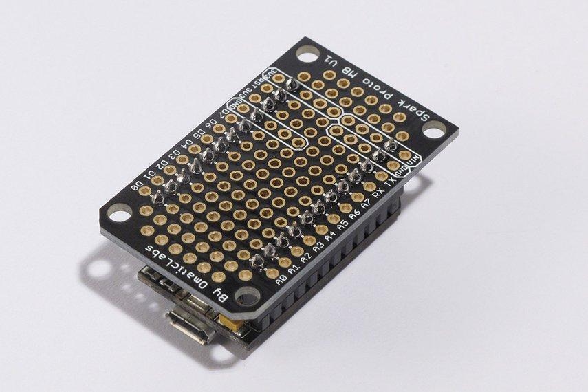 Protoboard for SparkCore