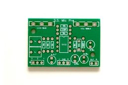 The Stupid Simple Mic Pre (PCB only)