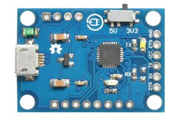 USB - UART adapter with CP2102 -- ALL PINS OUT