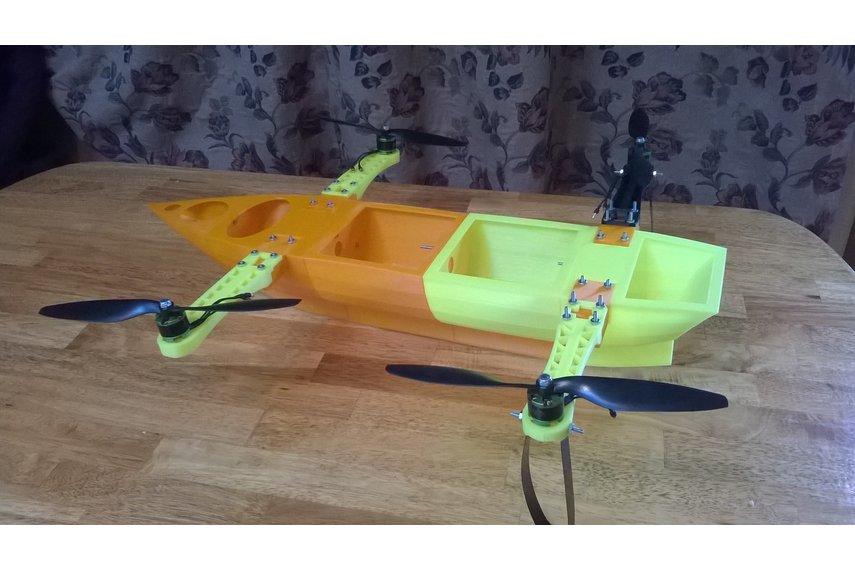 Flying Ship Aerial Robotics Platform (Frame Only)