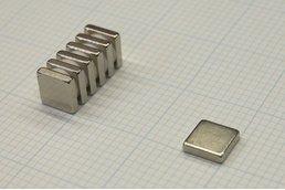 N45 Neodymium Magnet 0.5x0.5x0.125 inch