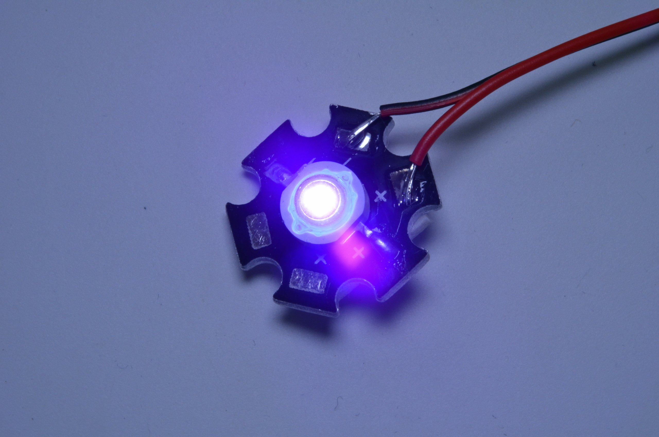 high power ultraviolet led from brickstuff on tindie. Black Bedroom Furniture Sets. Home Design Ideas