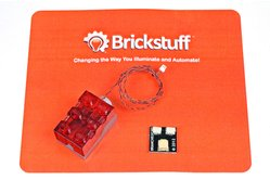 Light Brick with Red LED for LEGO® Models