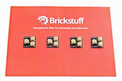 Brickstuff 1:2 Expansion Adapter (4-Pack) for Lighting LEGO® Models