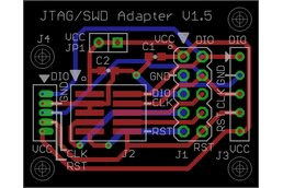 JTAG/SWD Pitch Converter, cable included