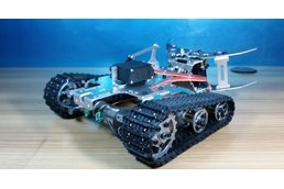 Tank chassis with Mechanical claw