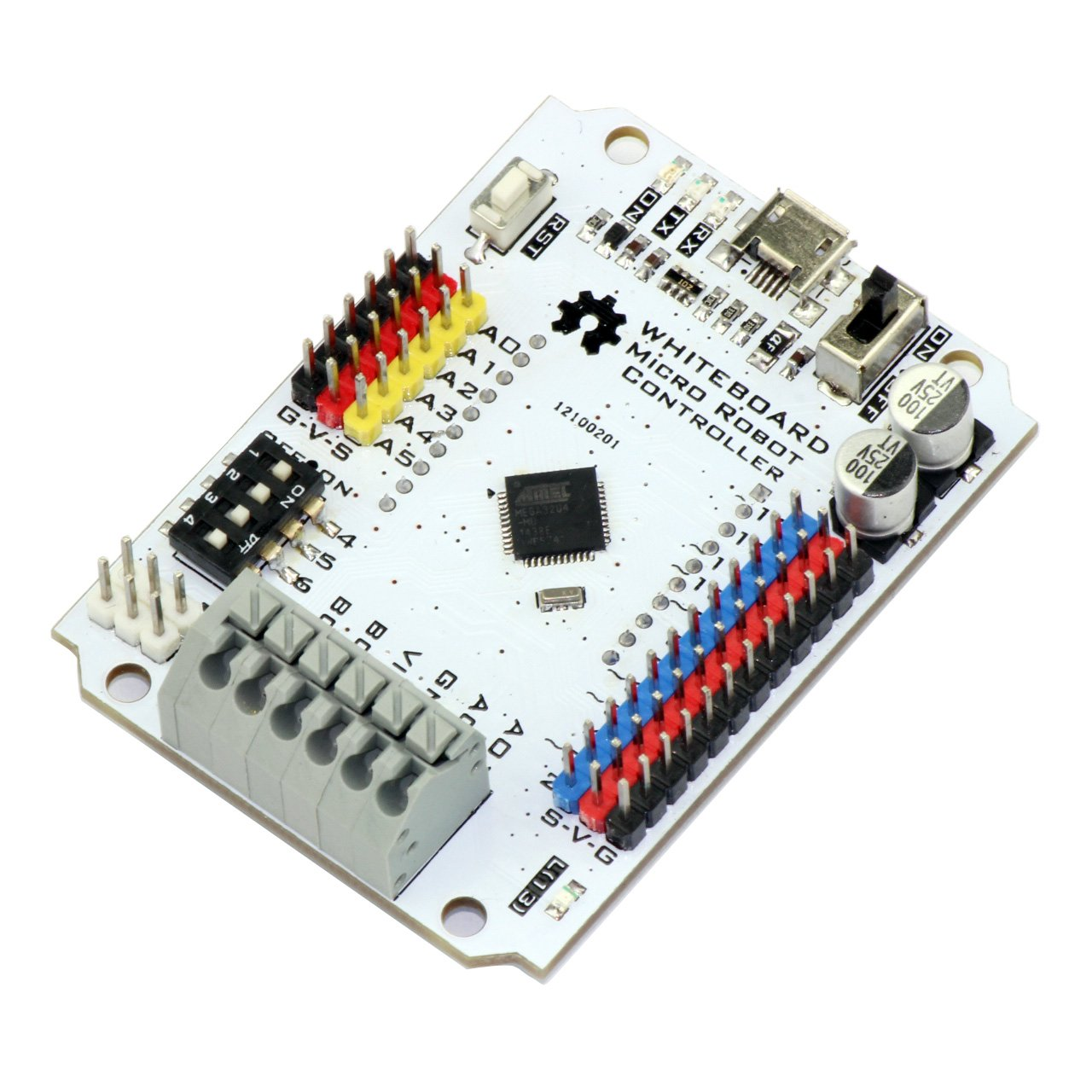 Micro robot controller for arduino from ruilongmaker on tindie