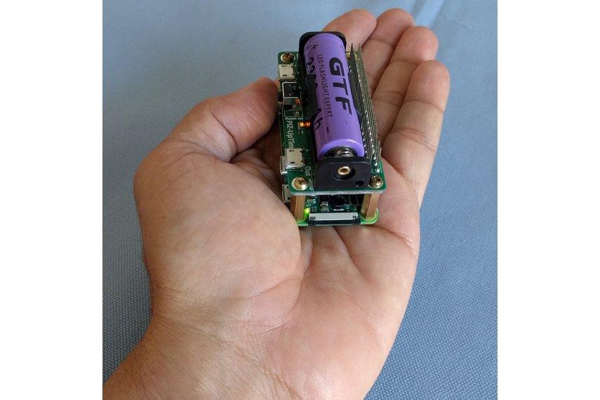 Pi-Zero-UpTime. UPS for Pi in Pi-Zero size.
