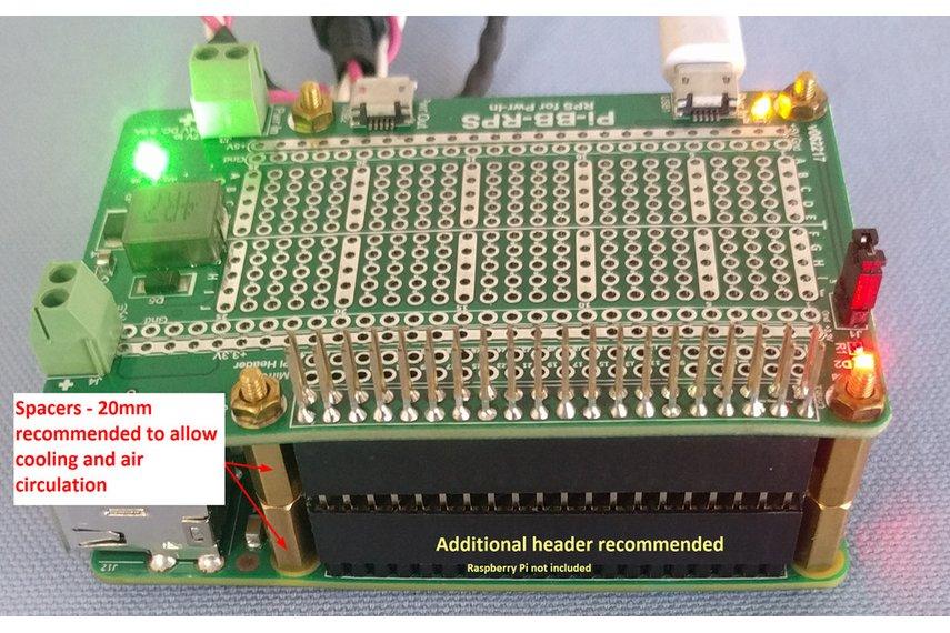 Pi-BB-RPS Redundant Power Supply for Raspberry Pi