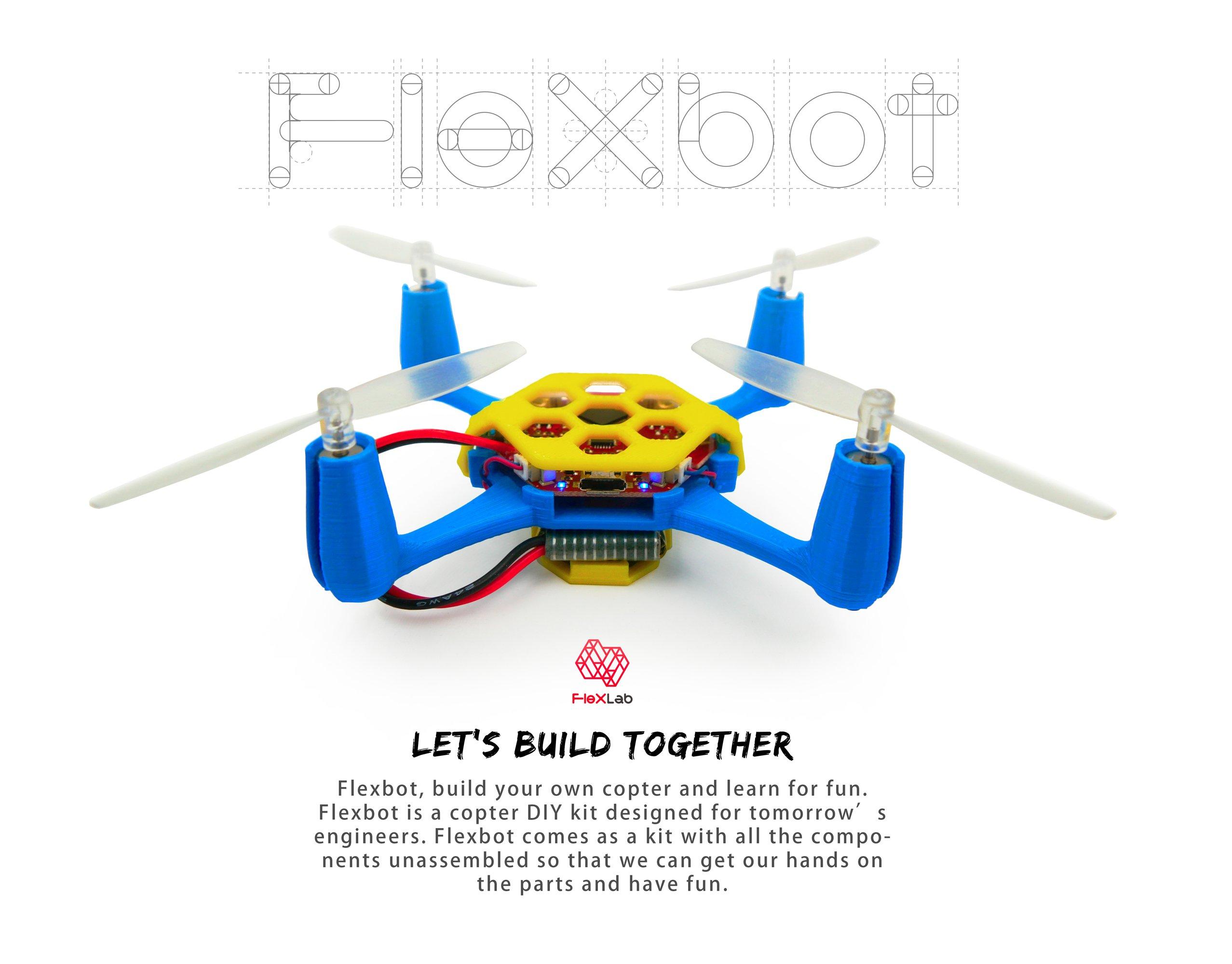 Quadcopter Build Kits Flexbot Quadcop...