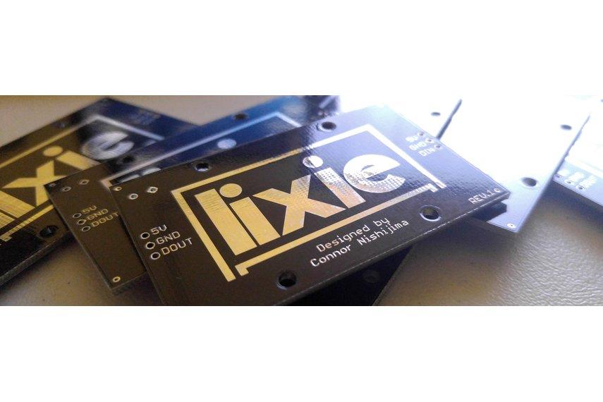 LIXIE - an LED alternative to the Nixie Tube!