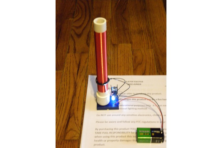 Fully Assembled Mini Tesla Coil Slayer Exciter Mad