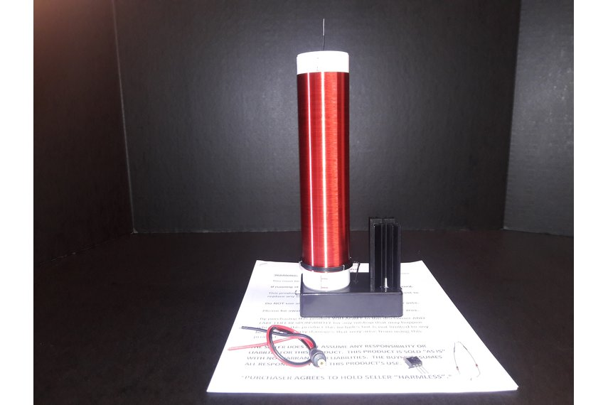 Large Fully Assembled Tesla Coil Made In U.S.A